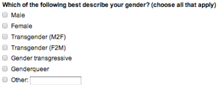 gender question